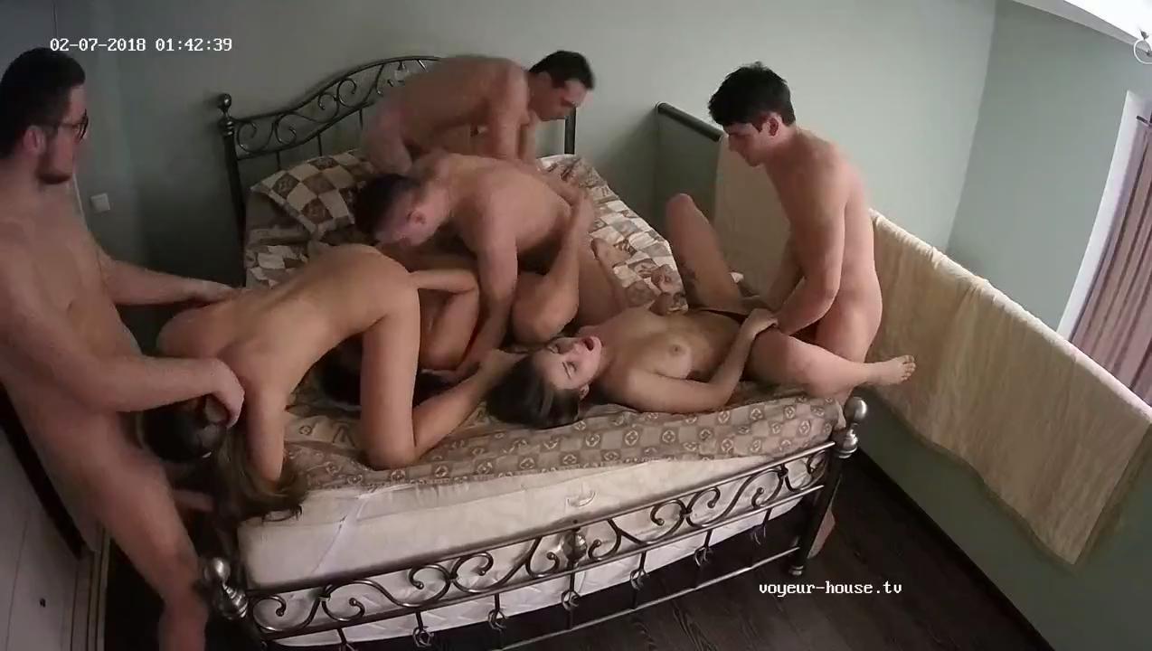 Ella isaac friends wild orgy feb 7 cam 5