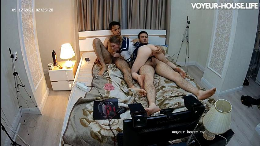 Demira Myagi Timo relaxing sexy games and 3some sex Sep16 2021 cam 2 pt 2